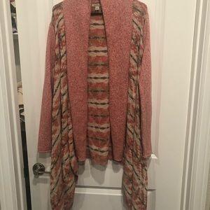 Lucky Brand long knit cardigan